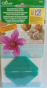Clover Kanzashi Flower Maker Art No. 8483 (Pointed Petal/ Large Size)