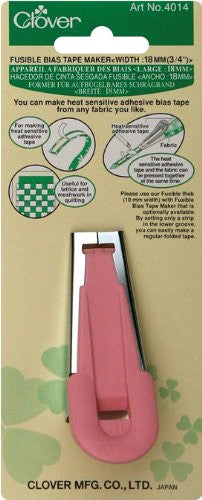 Clover Fusible Bias Tape maker Art No. 4014