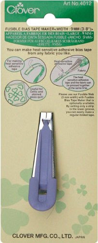 Clover Fusible Bias Tape maker Art No. 4012