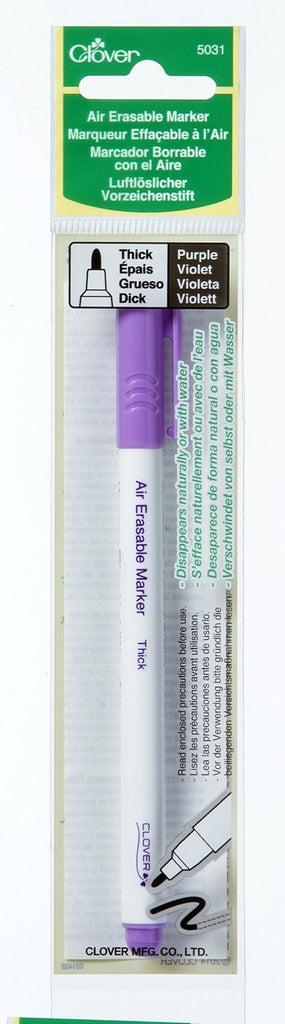 Clover Air Erasable Marker Art No. 5031 (Purple Thick)