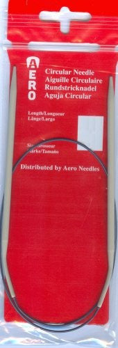 Aero Circular Knitting Needles 40cm/60cm/80cm