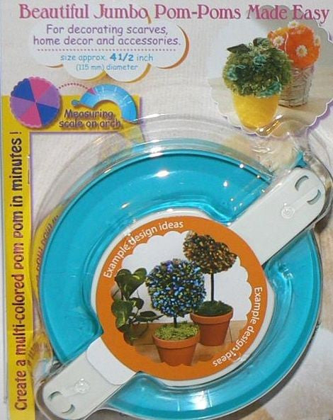 Clover Pom-Pom Maker Art No. 3128 (Extra Large)