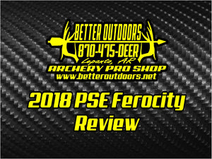 BOW VIDEO REVIEW: 2018 PSE Ferocity