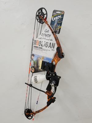 AMS Hooligan Bowfishing Package Bow - Better Outdoors Pro Shop