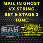 MAIL IN: GAS Ghost VX String Set with Stage 3 Tune for Hunting - Better Outdoors Pro Shop