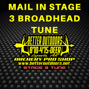MAIL IN: Stage 3 Tune with Exclusive Broadhead Tuning - Better Outdoors Pro Shop