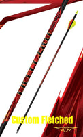 Black Eagle Arrows Outlaw Custom Shop Fletched Arrow