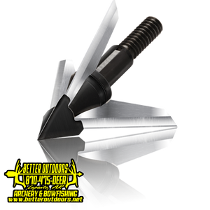 "QAD Exodus Swept Blade 1 1/4"" - Better Outdoors Archery"