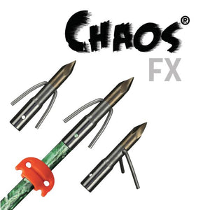 AMS Chaos FX Point on Fiberglass Arrow