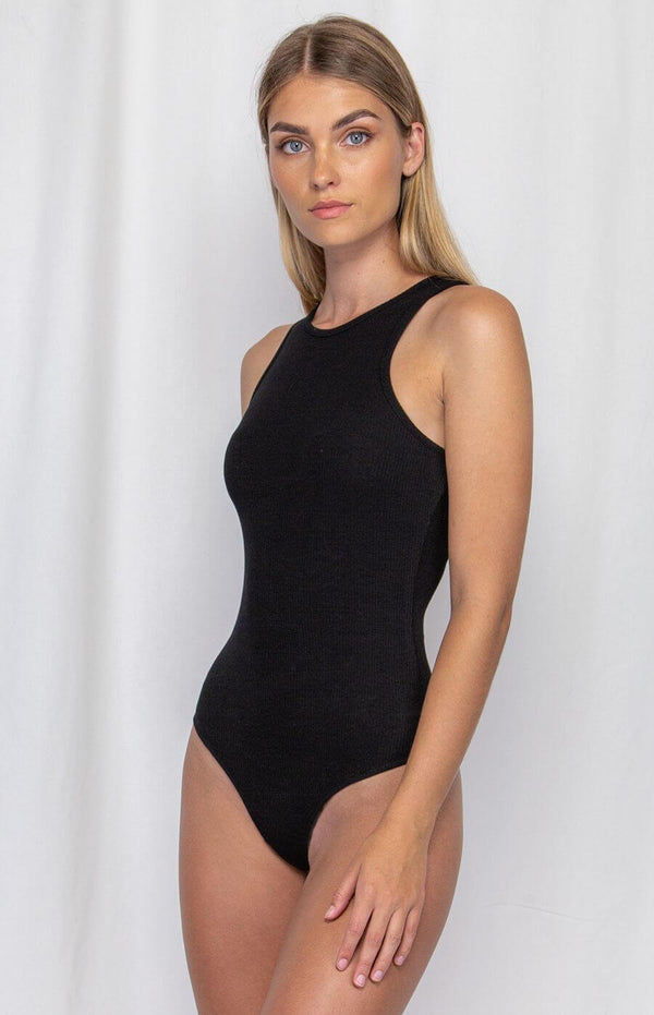 Hayden Bodysuit in Black