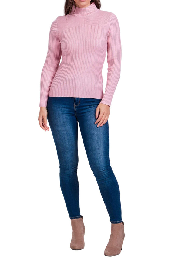 Sammie Ribbed Knit Long Sleeve Top in Blush Pink  Frangipani Living frangipani-living2.myshopify.com