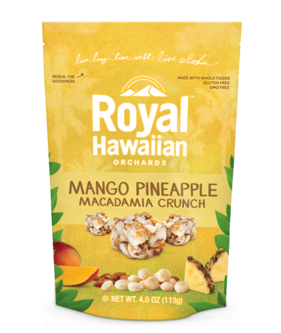 Royal Hawaiian Orchards Mango Pineapple Macadamia Crunch