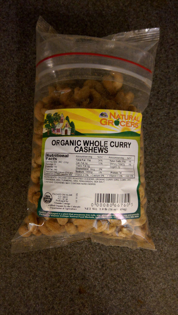 Natural Grocers Cashews