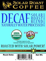 Solar Roast Coffee Decaf