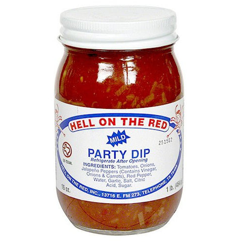 Hell On The Red Party Dip Salsa