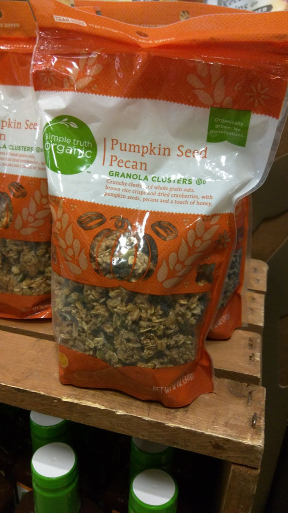 Simple Truth Organic Pumpkin Seed Pecan Granola Clusters