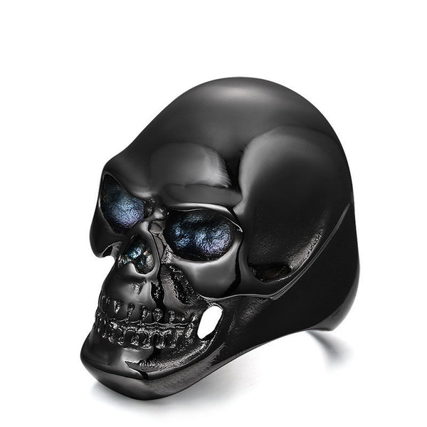 Skull Steel Ring For Him
