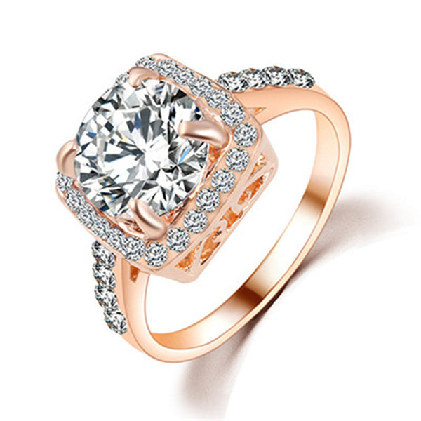 Brilliant Royal Cut Classy Engagement Ring