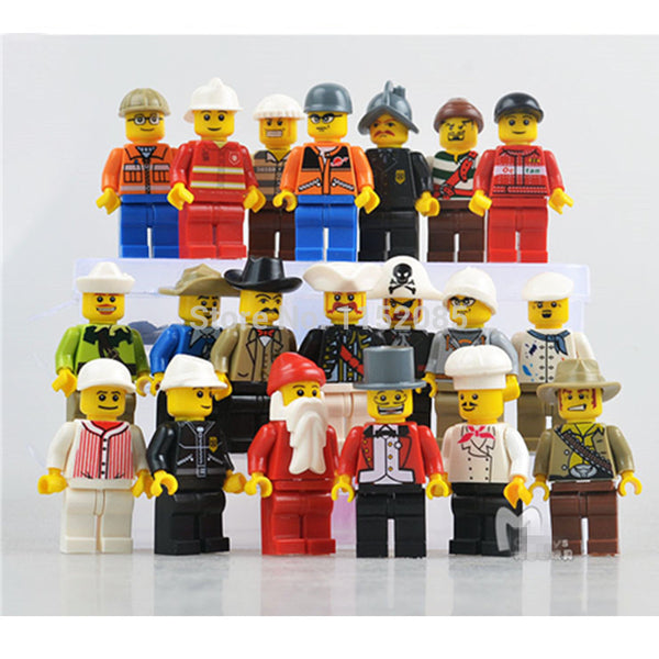 20pcs/lot The Movie Characters Building Blocks Figures City Residents Brick Figures Compatible with lepin legoed Mini Toys