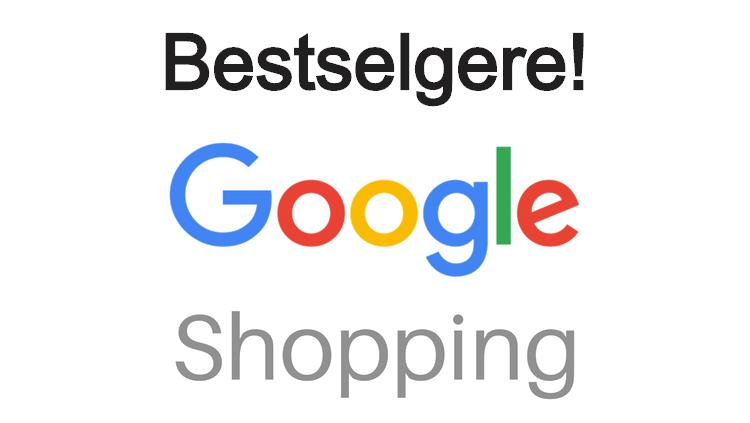 Bestselgere Google Shopping