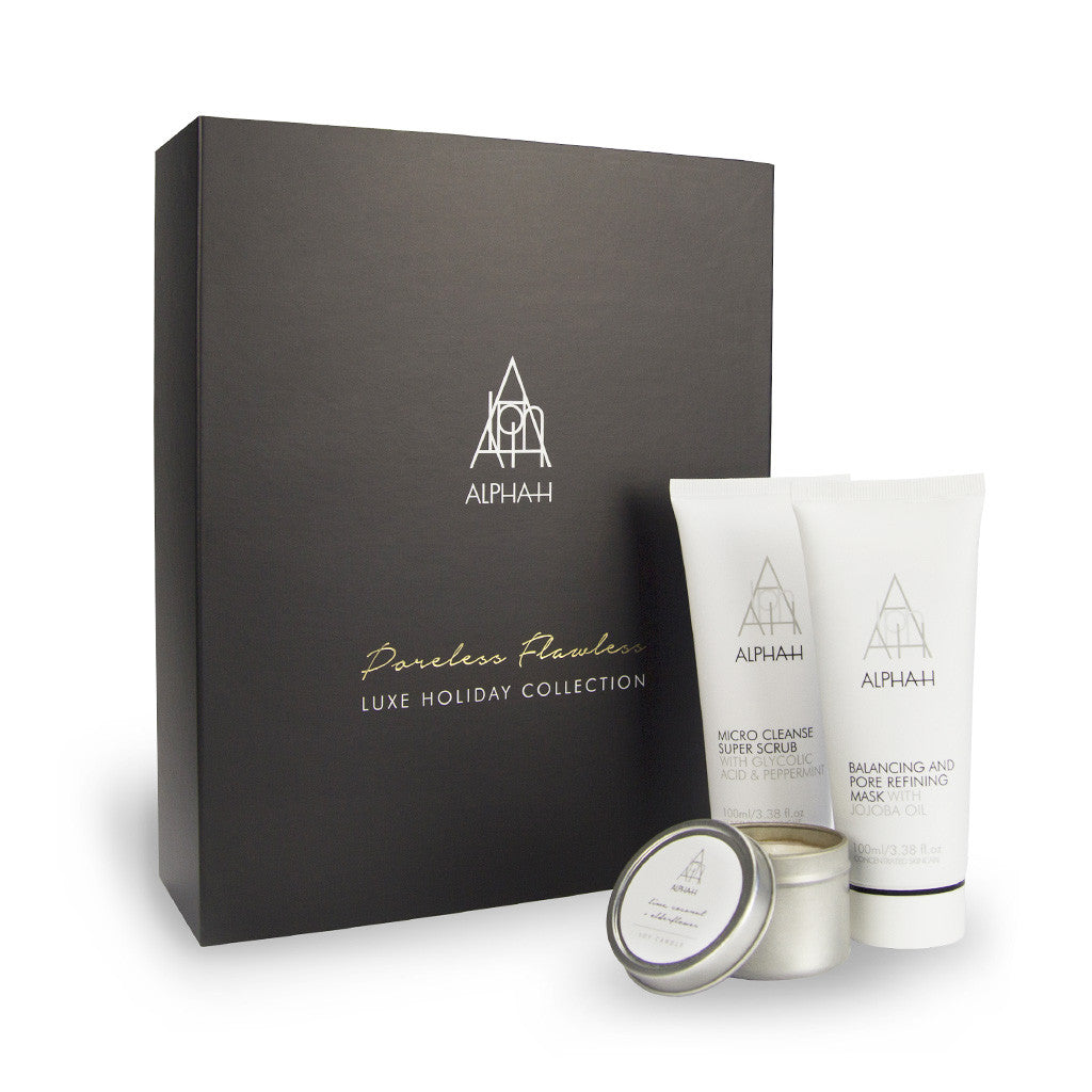 Alpha-H Poreless and Flawless Holiday Kit