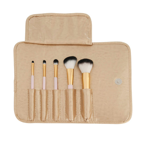 Lulu and Lipstick Travel Brush Set