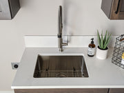 "Zeek ZH-BR23 23"" Small Radius Bar / Kitchen Sink"