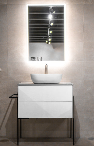 "Zeek Minsk 36""x18"" Wall-Mounted Bathroom Vanity"
