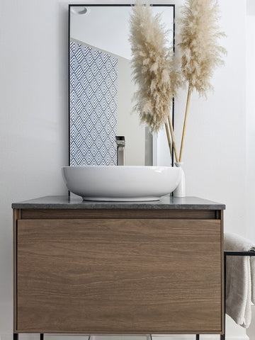 "Zeek Belen 24"" Wall-Mounted Bathroom Vanity"