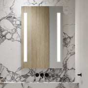 "Zeek 24""x36"" FrontLit LED Rectangular Bathroom Wall Mirror M-FL01"
