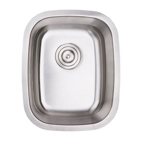 Zeek ZB-1518 15'' Traditional Bar Sink