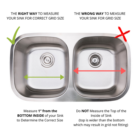 "Zeek Kitchen Sink Bottom Grids Sink Protector Stainless Steel 11.6""x13.6"""