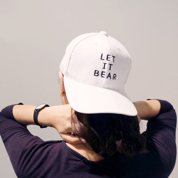 LET IT BEAR, WHITE CAP