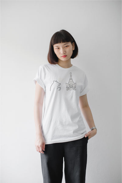 SAWASDEE KRAB, Changeable color t-shirt