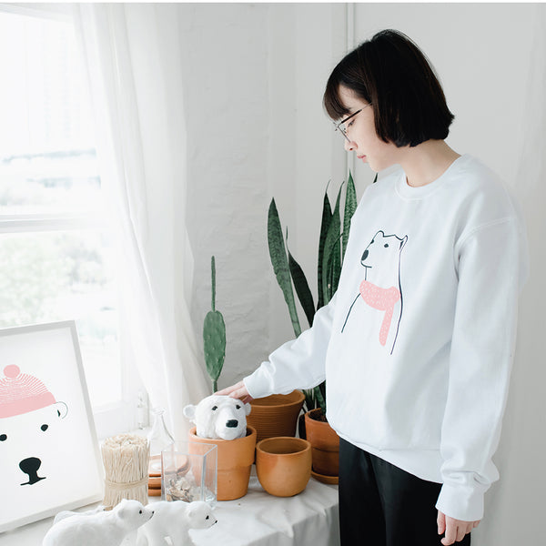 MERRY POLAR, Changeable color sweatshirt