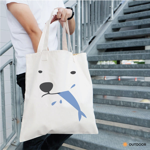 POLAR AND FISH, Changeable color tote bag