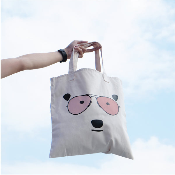 BEAR LOVE SUNSHINE, Changeable color tote bag