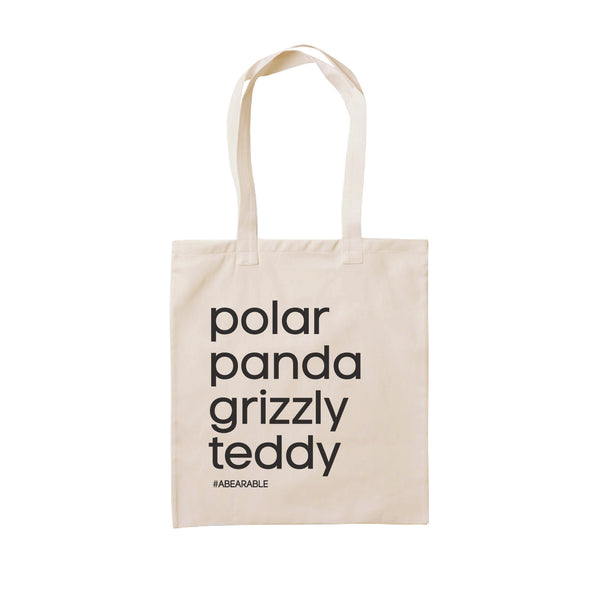 BEAR LOVERS TOTE