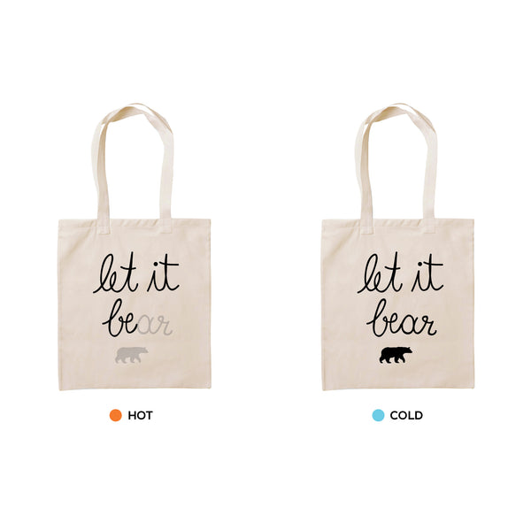 LET IT BEAR, Changeable color tote bag