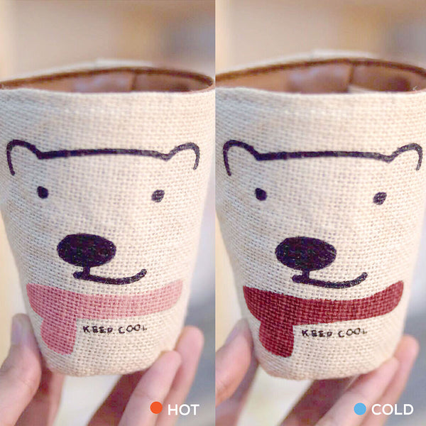 KEEP COOL, Changeable color cup-cover (RED)