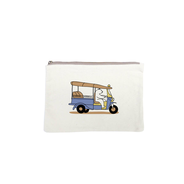 TUK TUK, WAIT FOR ME! ,Changeable color coin bag