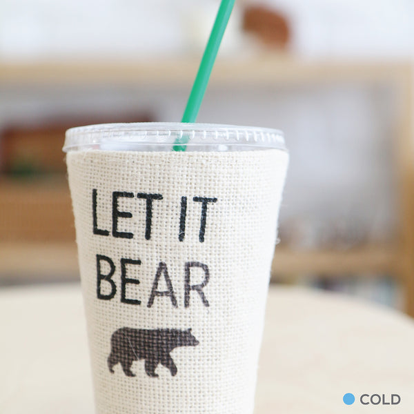 LET IT BEAR, Changeable color cup-cover