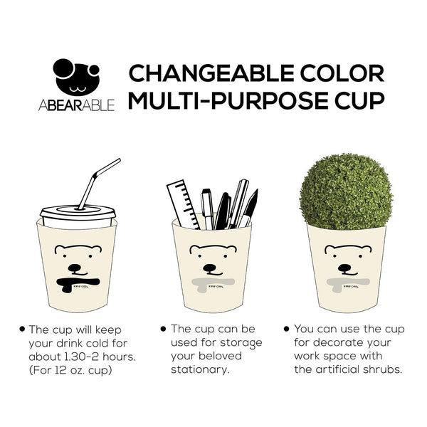 KEEP COOL, Changeable color cup-cover