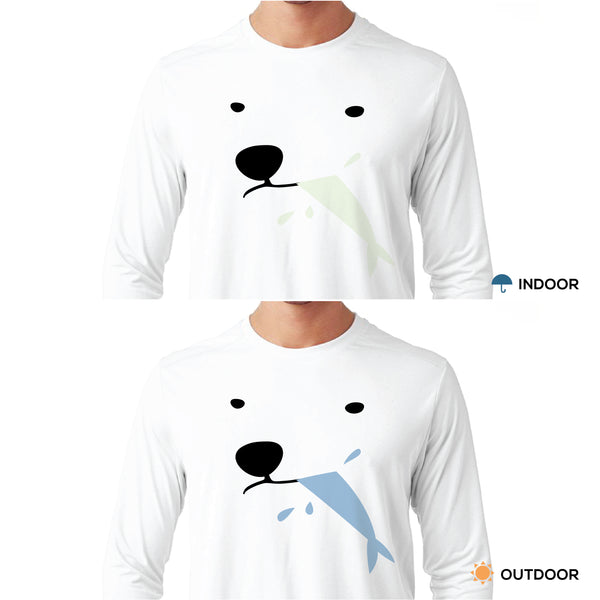 POLAR AND FISH, Changeable long-sleeve tshirt