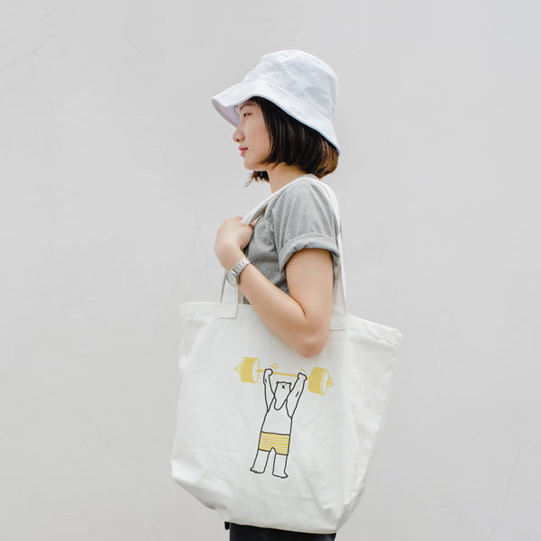 Be(ar) Strong, Changeable color tote bag (LOFT EDITION)