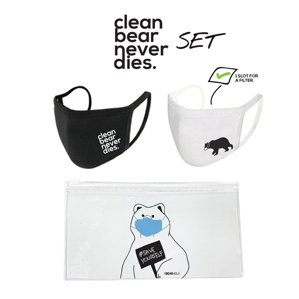 Survival Set, Clean bear never dies
