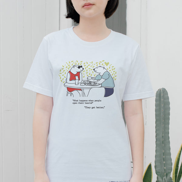 Midori's tee, Changeable color t-shirt