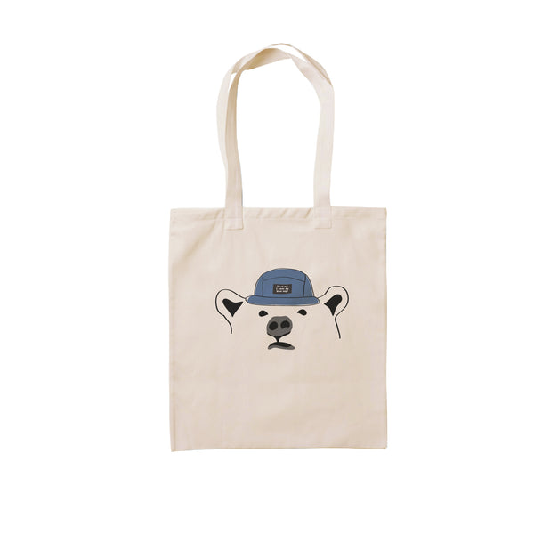 TRUST ME I WEAR DA BLUE CAP, Changeable color tote bag