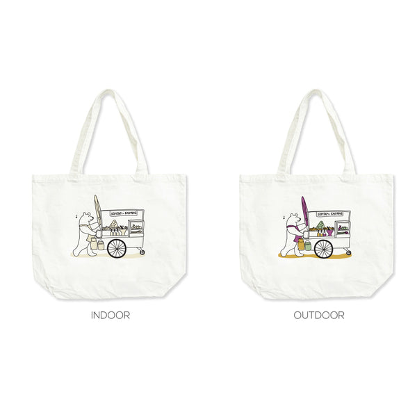 SOMTAM-KAIYANG, Changeable color tote bag
