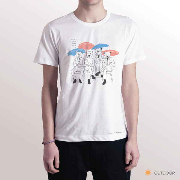 'HERE COMES THE SUN' Changeable color t-shirt
